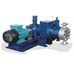 Hydraulically actuated Diaphragm type dosing pump